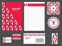 Corporate identity - stationery for company Royalty Free Stock Image