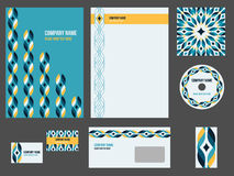 Corporate identity stationery for event or company Stock Photo