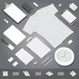 Corporate identity stationery mockup Royalty Free Stock Images