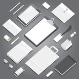 Corporate identity stationery mockup Stock Image