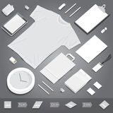 Corporate identity stationery mockup Royalty Free Stock Photo