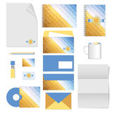 Corporate identity. stationery template design. Documentation for business. Royalty Free Stock Photography