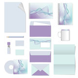 Corporate identity. stationery template design. Documentation for business. Royalty Free Stock Image