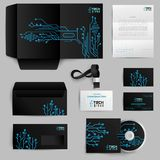 Corporate Identity Technology Pattern Royalty Free Stock Image