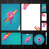 Corporate identity template. Template for Business artworks. Vector Stock Photos