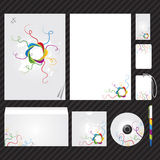 Corporate identity template. Template for Business artworks. Vector Stock Photo