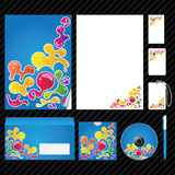 Corporate identity template. Template for Business artworks. Vector Royalty Free Stock Photography