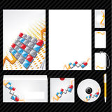 Corporate identity template. Template for Business artworks. Vector Royalty Free Stock Image