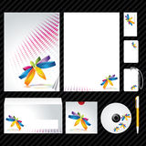 Corporate identity template. Template for Business artworks. Vector Royalty Free Stock Photo