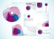 Corporate Identity Template. Stylized Corporate Identity Template design, Vector Royalty Free Stock Photo