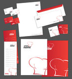 Corporate identity template Stock Photos