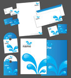 Corporate identity template. And vector stationery set Royalty Free Stock Image