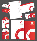 Corporate identity template. And vector stationery set Royalty Free Stock Photography
