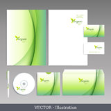 Corporate identity template. Royalty Free Stock Photos