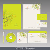 Corporate Identity Template. Royalty Free Stock Photography