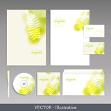 Corporate identity template. Royalty Free Stock Images
