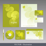 Corporate identity template. Stock Photo