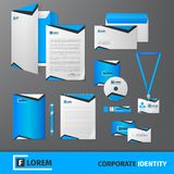 Corporate Identity Template Royalty Free Stock Photos