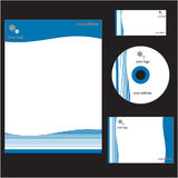 Corporate Identity Template. An illustration of Corporate Identity Template Royalty Free Stock Image