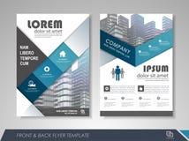 Corporate identity template brochure Stock Photo
