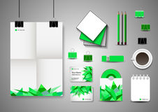 Corporate Identity Template. Business stationery Royalty Free Stock Photo