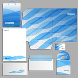Corporate identity template Royalty Free Stock Photo