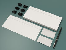 Corporate identity template design stationery. High resolution Stock Photos