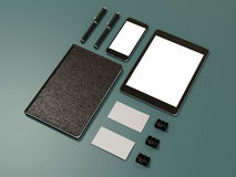 Corporate identity template design stationery. High resolution Royalty Free Stock Image