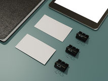 Corporate identity template design stationery. High resolution Royalty Free Stock Images