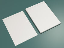 Corporate identity template design stationery. High resolution Stock Image