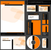 Corporate identity template. Stock Images