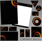 Corporate identity template. Stock Photography
