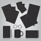 Corporate identity template illustration Royalty Free Stock Photos