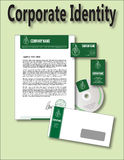 Corporate Identity Template Logo Restaurant Royalty Free Stock Photos