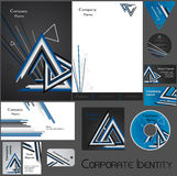 Corporate identity template no 17 Royalty Free Stock Photos