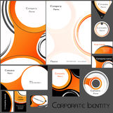 Corporate identity template no 15. Stock Images