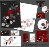 Corporate identity template no 17 Stock Photos