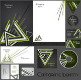 Corporate identity template no 17 Royalty Free Stock Photo