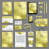 Corporate identity template set Stock Photography