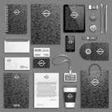 Corporate identity template set Royalty Free Stock Photo