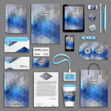 Corporate identity template set Royalty Free Stock Photography