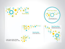 Corporate identity template set, vector Royalty Free Stock Photo