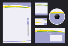 Corporate Identity Template Vector Royalty Free Stock Photo