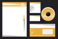 Corporate Identity Template Vector Royalty Free Stock Photos