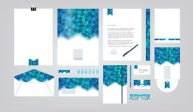 Corporate identity template. Royalty Free Stock Image