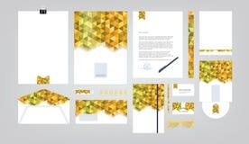 Corporate identity template. Stock Photos