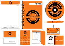 Corporate Identity Template Vector set Stock Photo