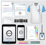 Corporate Identity Template Vector set Stock Images