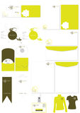 Corporate Identity Template Vector Set Stock Image