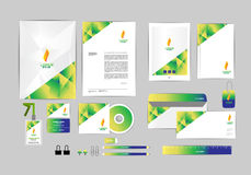 Corporate identity template for your business G Stock Photos